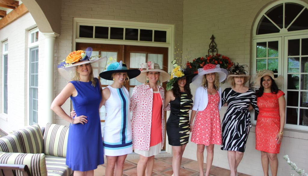 Lifestyle pictures, We are heading to the track! Posing for a picture in our dresses