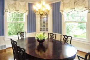 Dining room after home staging