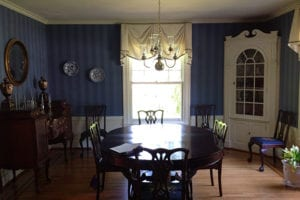Dining room before staging