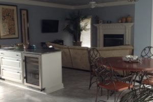 Kitchen before Interior design