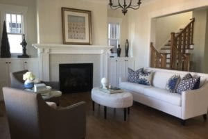 A living room after home staging