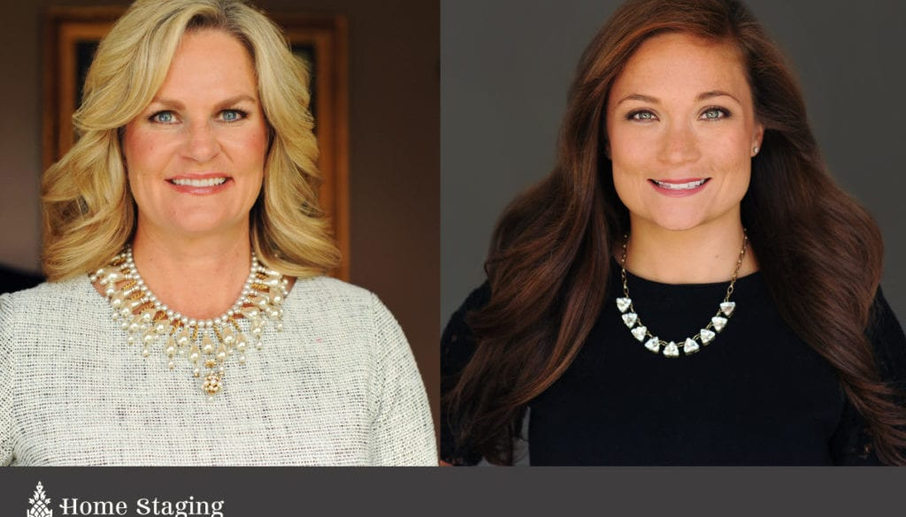 Jill Gaynor and Katie Hewitt of home staging specialists