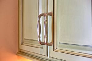 interior design - cabinet handle detail