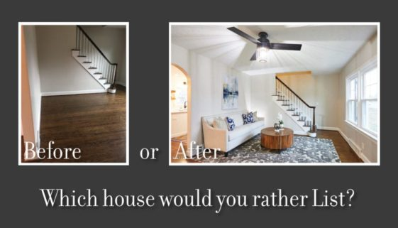 home staging blog before and after