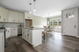 Staging a home in Louisville Kentucky. A well-designed kitchen island