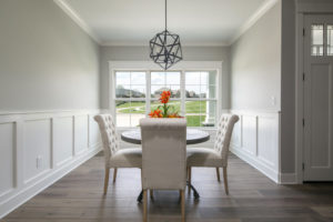 Home staging of a dining room in Louisville Kentucky