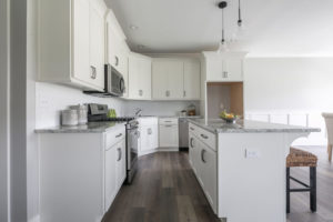 Home staging for newly design kitchens