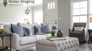 Home staging specialist blog about the value of home staging. This is a picture of a well-designed living room that should facilitate a real estate do you quicker in for more money then without home staging.